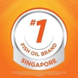Scott's Emulsion Cod Liver Oil, Omega 3 fatty acid DHA, Children Supplement, Orange, 2x400ml