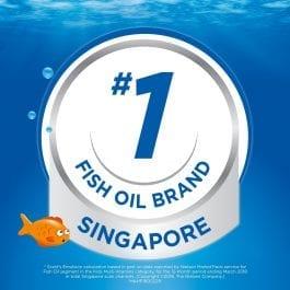 Scott's Emulsion Cod Liver Oil, Omega 3 fatty acid DHA, Children Supplement, Original, 2 x400ml