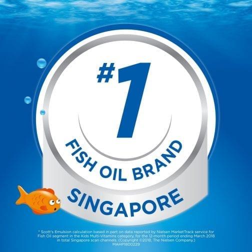 #1 Fish Oil Brand Singapore