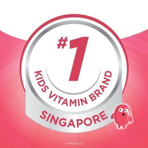 #1 Kids Vitamin Brand in Singapore Pink
