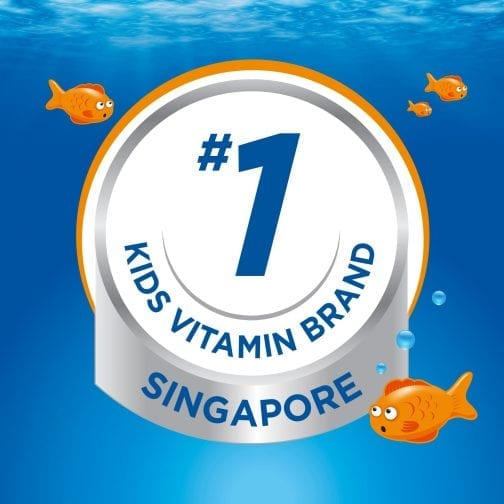 #1 Kids Vitamin Brand Singapore
