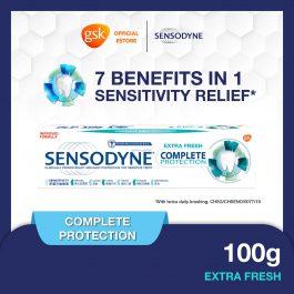 Sensodyne Sensitive Complete Protection Extra Fresh Toothpaste, 100 g