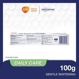 Sensodyne Sensitive Daily Care Gentle Whitening Toothpaste, 100 g