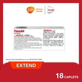 Panadol Extend 500mg Tab X18_Sg
