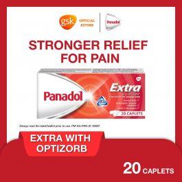 Panadol Extra with Optizorb 500mg, 20 caplets