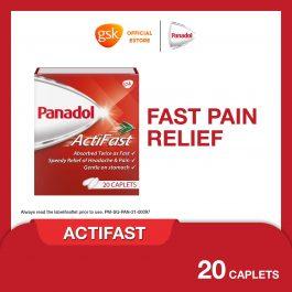 Panadol Actifast Tablet, 500mg, 2X10 caplets