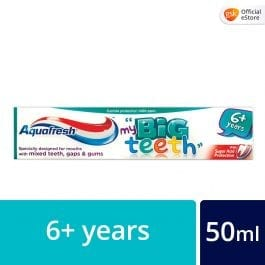 Aquafresh Big Teeth Toothpaste for Children 6+ years old, 50ml