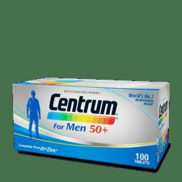 Centrum® for Men 50+ (100 tabs)