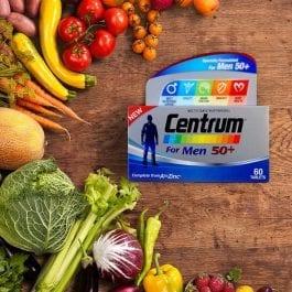Centrum® for Men 50+ (60 tabs) 12 months package | Bundle of 6
