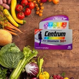 Centrum® for Women 50+ (60 tabs) 12 months package | Bundle of 6