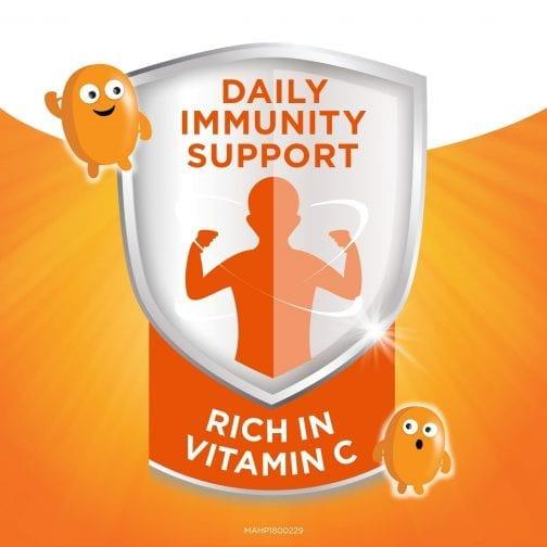 Daily Immunity Support Orange Colour