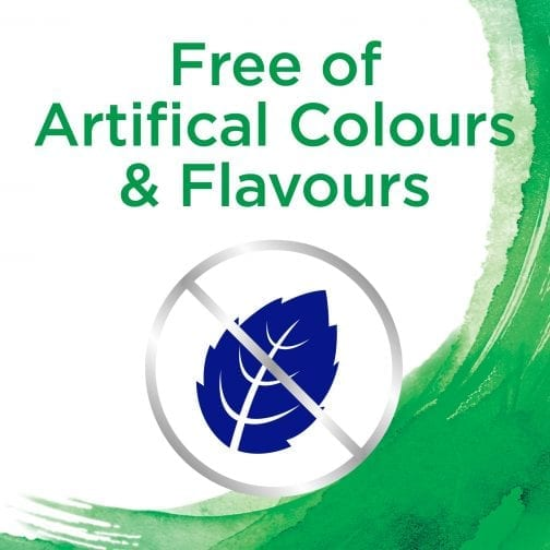 Free of Artificial Colours & Flavours