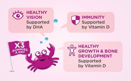 Healthy Growth & Bone Development Supported by Vitamin D