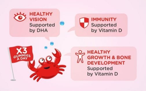 Healthy Vision Supported by DHA