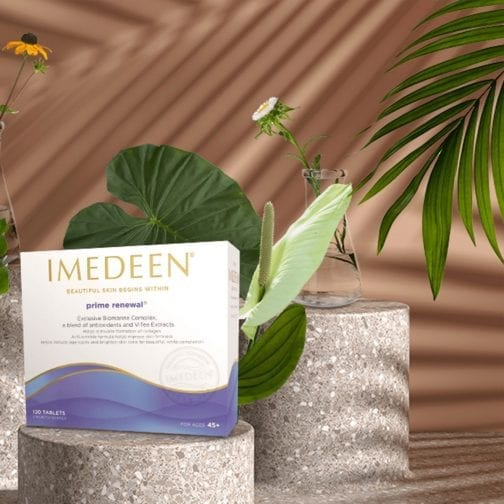 Imedeen Prime Renewal 120 Tablets For Ages 45+ lifestyle image