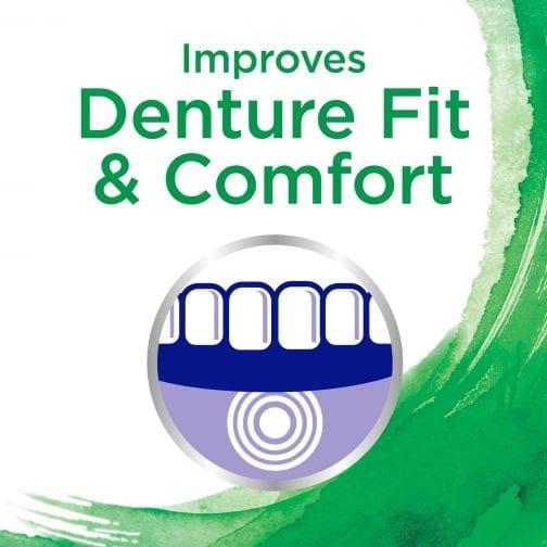 Improves Denture Fit & Comfort