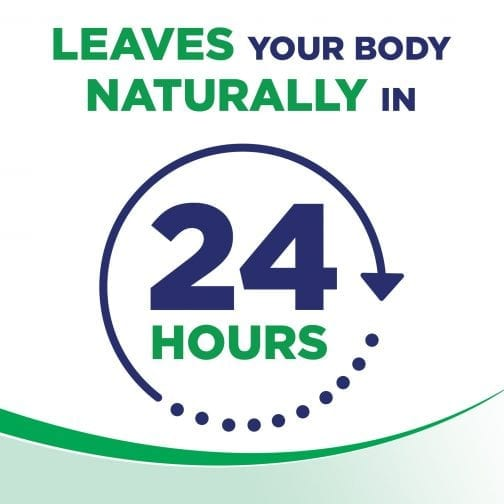 Leaves Your Body Naturally In 24 Hours
