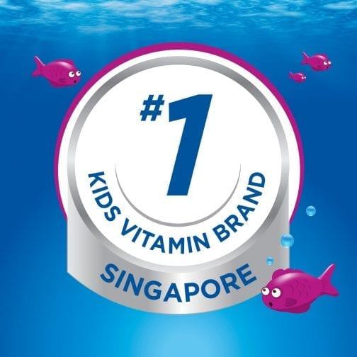 Number 1 Kids Vitamin Brand in Singapore