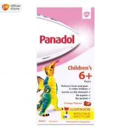 Panadol Paracetamol for Children age 6 yrs and up, 60ml suspension