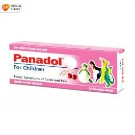 Panadol Chewable Children's tablet, 120mg, 24 tablets