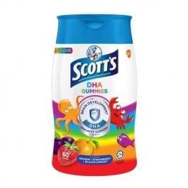 Scott's DHA Gummies Multiflavour 60s
