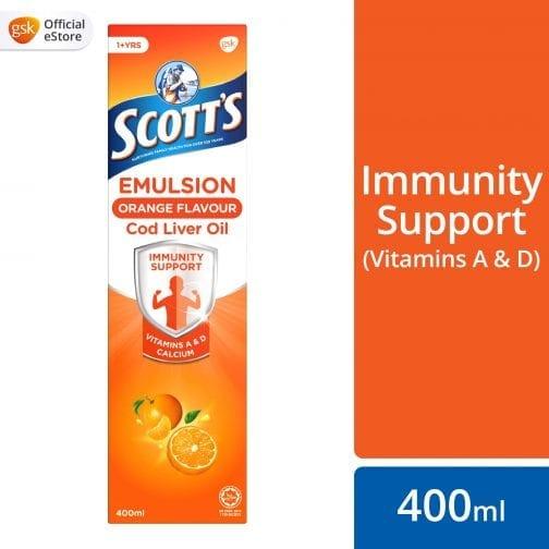 Scott's Emulsion Orange Flavour Cod Liver Oil