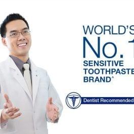 Sensodyne Sensitive Rapid Relief Toothpaste, Extra Fresh 100 g